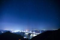 しまなみ海道 来島海峡大橋の夜景