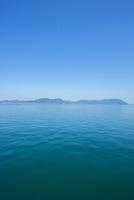 フェリーより瀬戸の島々