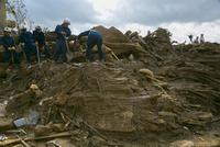 土砂災害の風景