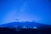 満天の星と八ヶ岳