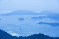 休山より瀬戸内海の多島美