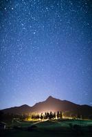 烏ヶ山と満天の星