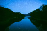 聖湖畔より満天の星