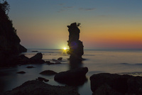 掛戸松島の夕景