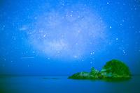 大浜海岸より満天の星
