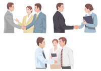 握手 商談