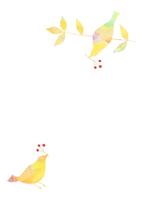 花と鳥 10690000005  写真素材・ストックフォト・画像・イラスト素材 アマナイメージズ