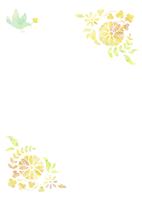 花と鳥 10690000007  写真素材・ストックフォト・画像・イラスト素材 アマナイメージズ