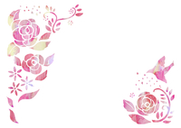 花と鳥 10690000009  写真素材・ストックフォト・画像・イラスト素材 アマナイメージズ