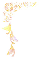 花と鳥 10690000010  写真素材・ストックフォト・画像・イラスト素材 アマナイメージズ