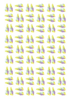 夏パターン・貝殻 10690000019| 写真素材・ストックフォト・画像・イラスト素材|アマナイメージズ