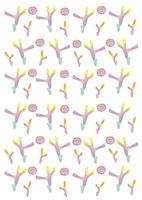 夏パターン・サンゴ 10690000025| 写真素材・ストックフォト・画像・イラスト素材|アマナイメージズ