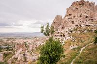 トルコ,カッパドキアの奇岩