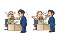 中年男性の生活、上司と部下の関係