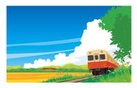 キハ200小湊鉄道 晩夏の風景