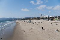 サンタモニカの海岸