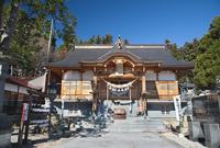 烏帽子山八幡神社の秋