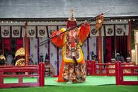どんが祭り林家舞楽 10729003982| 写真素材・ストックフォト・画像・イラスト素材|アマナイメージズ