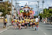 どんが祭り 10729004031| 写真素材・ストックフォト・画像・イラスト素材|アマナイメージズ