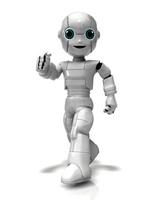 歩く少年ロボット