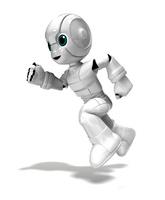 走る少年ロボット