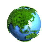 芝生地球アジア