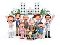 三世代家族と病院介護