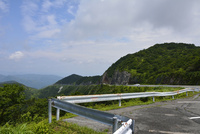 夏の伊吹山ドライブウェイ