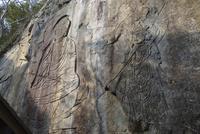 富川磨崖仏(耳だれ不動) 10737000212| 写真素材・ストックフォト・画像・イラスト素材|アマナイメージズ