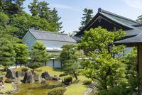 彦根城博物館 日本庭園と建物