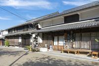 中山道醒井宿の町並み(醤油店)