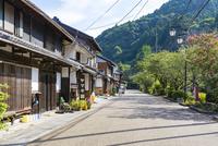 中山道醒井宿の町並み(夏)