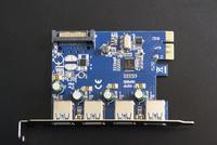 USB3.0拡張ボード(USB3.0増設インターフェースボード) 10737000344| 写真素材・ストックフォト・画像・イラスト素材|アマナイメージズ