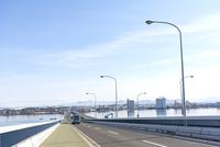 琵琶湖大橋 10737000354| 写真素材・ストックフォト・画像・イラスト素材|アマナイメージズ