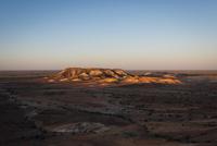 ブレイクアウェイズ保護区の夕景