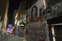 ホージアレーン(Hosier Lane)のストリートアート