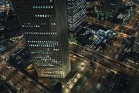 都庁展望台より見下ろす新宿の夜景