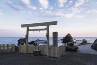 二見興玉神社の遥拝所と夫婦岩