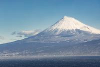 西伊豆井田より望む駿河湾越しの富士山