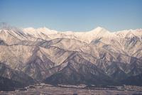 高ボッチ高原より望む北アルプス 10743000160| 写真素材・ストックフォト・画像・イラスト素材|アマナイメージズ