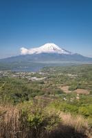 富士岬平より望む富士山 10743000234| 写真素材・ストックフォト・画像・イラスト素材|アマナイメージズ