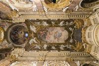 サンタ・マリア・デッラ・ヴィットーリア教会の天井絵(Santa Maria della Vittoria) 10743000289| 写真素材・ストックフォト・画像・イラスト素材|アマナイメージズ