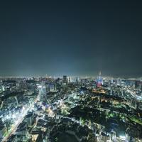 六本木ヒルズ展望台より望む東京のスカイライン 10743000331| 写真素材・ストックフォト・画像・イラスト素材|アマナイメージズ