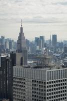 都庁展望台より望む東京のスカイライン 10743000341| 写真素材・ストックフォト・画像・イラスト素材|アマナイメージズ