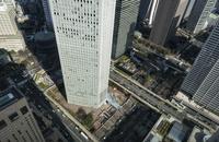 都庁展望台より見下ろす西新宿の街並み 10743000342| 写真素材・ストックフォト・画像・イラスト素材|アマナイメージズ