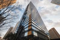 見上げる新宿の高層ビル群 10743000393| 写真素材・ストックフォト・画像・イラスト素材|アマナイメージズ