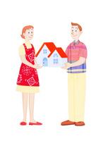 夫婦と住宅