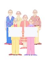 高齢者とホワイトボード