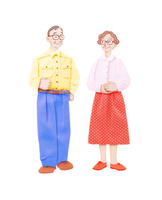 老夫婦 10757000992| 写真素材・ストックフォト・画像・イラスト素材|アマナイメージズ