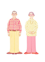 老夫婦 10757000993| 写真素材・ストックフォト・画像・イラスト素材|アマナイメージズ